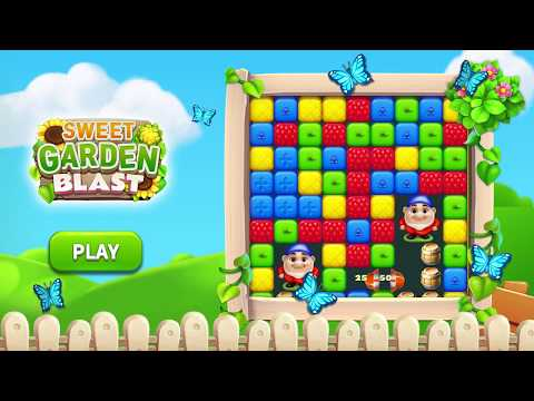 video review of Sweet Garden Blast Puzzle Game
