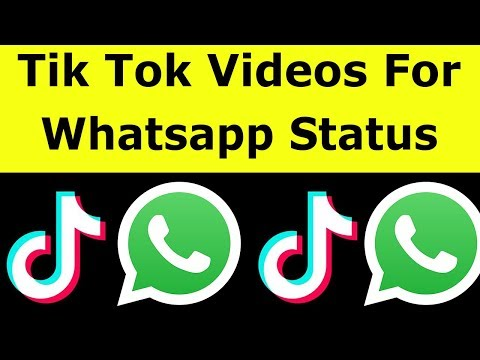 How To Share Tik Tok Video On Whatsapp Status & Download Videos Without Watermark-2021