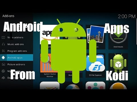 How to Launch Android Apps with Kodi