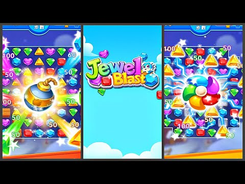 Jewel Blast Dragon - Match 3 Puzzle (Gameplay Android)