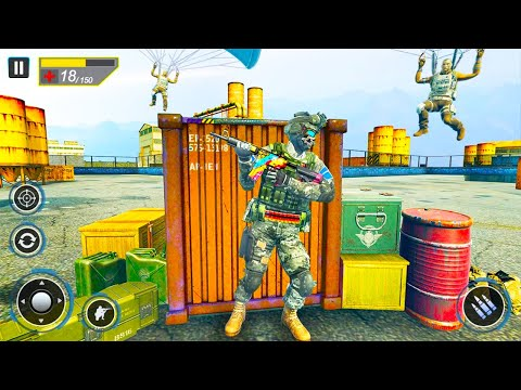 Commando Secret Mission - Shooting Games 2021 - Android GamePlay