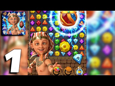 Jewel Ancient 2: Lost Tomb Gems Adventure - Gameplay Part 1 Levels 1-9 (Android, iOS)