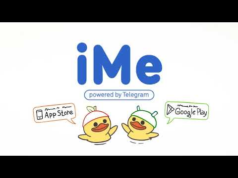video review of iMe Messenger & Crypto Wallet