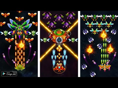 🔴 Galaxy Invader Infinity Shooter OFFLINE Android Gameplay 2020