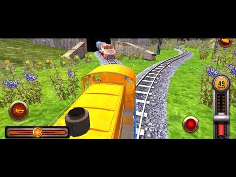 video review of Train Racing Games 3D 2 Player