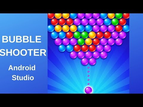 Bubble Shooter game with Admob using Android Studio DEMO