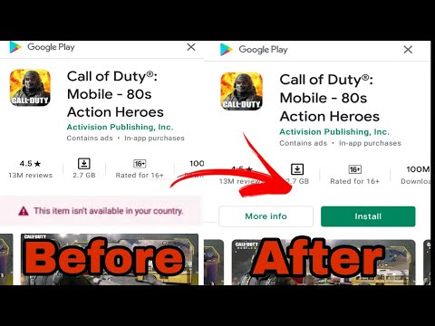 How to download call of duty mobile on android(2020)|easy tip to download 🔥