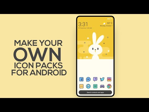 Make Android Icon Packs Using Icon Pack Studio