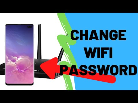 How To Change WiFi Password From Your Smartphone (Android)