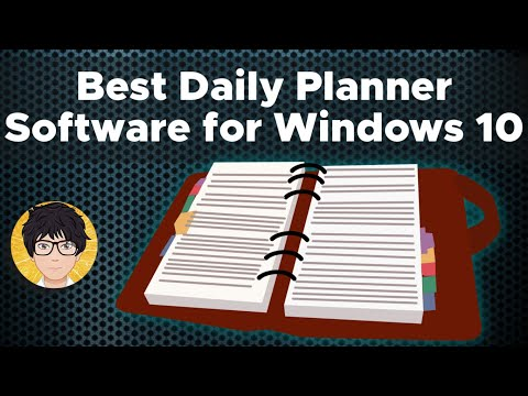 Best daily planner software for windows 10   free   Easy way   Fix   solve   2021 💻⚙️🐞