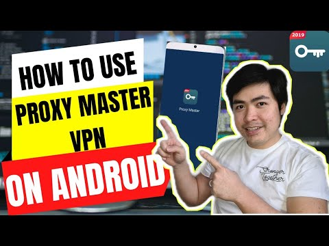 How to Install / Use Proxy Master VPN on Android in 2021   Proxy Master TUTORIAL   Cowell Chan
