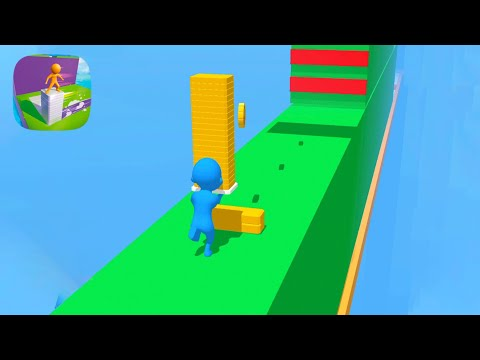 Stack Tower Jump - All Levels - Part 1 Gameplay Android, iOS