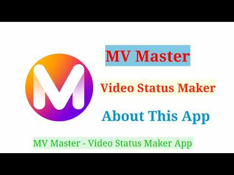 MV Master - Video Status Maker !! About This App !!
