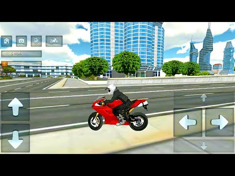 Extreme Bike Driving 3D - Motorbike Driving in City - Android Gameplay FHD