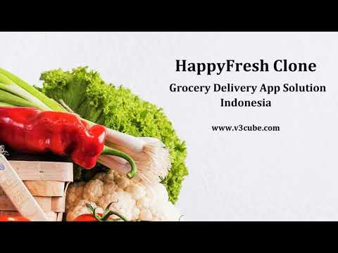 HappyFresh Clone App Grocery Business Solution