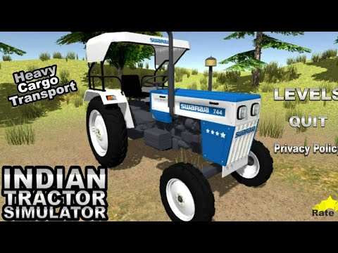 New Indian Tractor Game | Indian Tractor Simulator Gameplay | Best Indian Game 2020 | New IndianGame