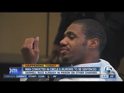 Convicted Greenacres Circle K murderer to be sentenced Tuesday