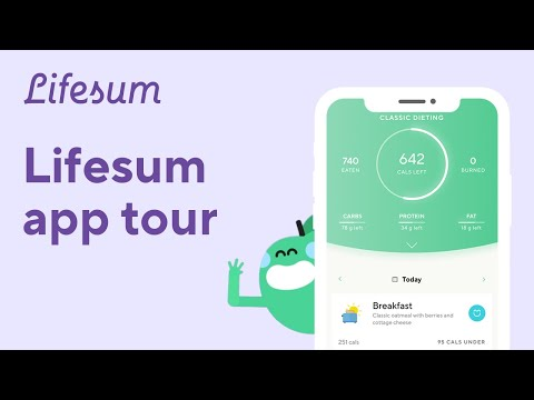 Lifesum introduction: welcome to the app!