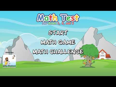 video review of Math Test for Grade 1, 2, and 3