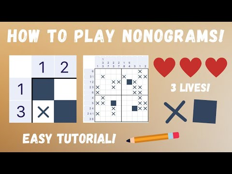How to Play Nonograms! | Strategy Game Explained
