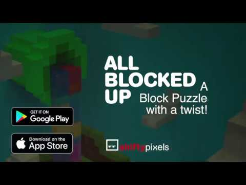 All Blocked Up - A Block Puzzle with a Twist! On iOS and Android.