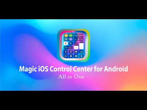 video review of iOS Control Center for Android (iPhone Control)