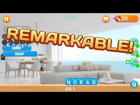 My Home Makeover Design: Dream House of Word Gameplay Android/iOS