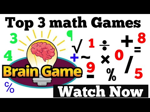 Top 3 best math games for android !! Watch now