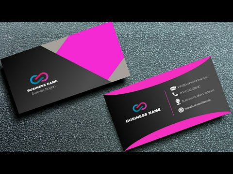 How to create Business card / Visiting card design using PicsArt on android   Editing tutorial