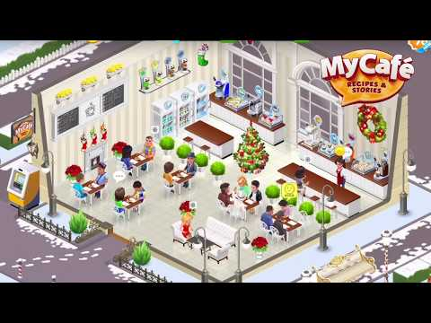 video review of My Cafe — Restaurant Game. Serve & Manage