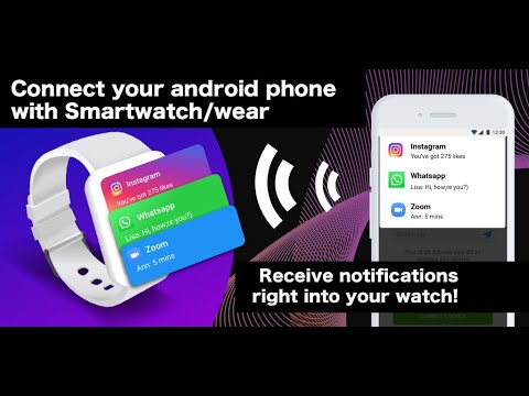 video review of SmartWatch sync app for android&Bluetooth notifier