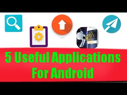 5 Useful Applications For Android December 2016