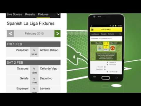 BBC SPORT APP FOR ANDROID