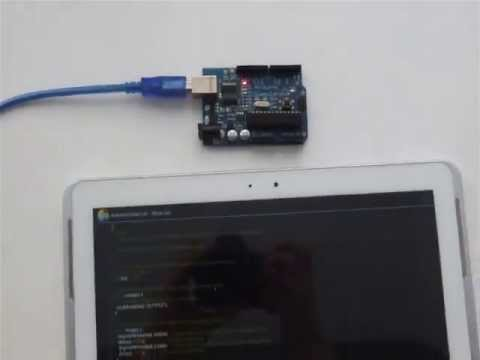 video review of ArduinoDroid