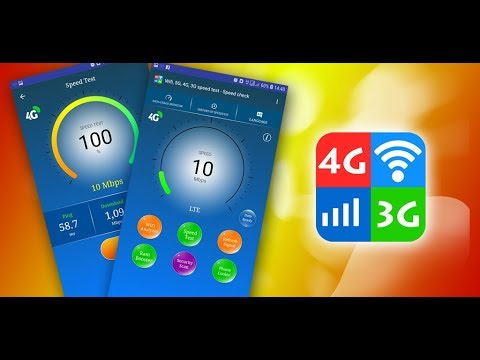 video review of WiFi, 5G, 4G, 3G Speed Test