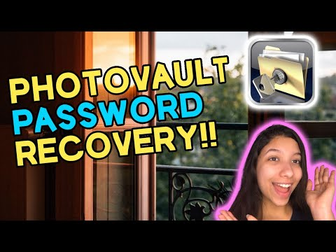How to get into PhotoVault if Forgot Passcode! Recover PhotoVault Passcode 2021 iOS/Android