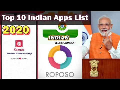 Top 10 Indian Apps List 2020 - Made In India