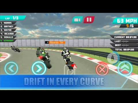 video review of Free motorcycle game - GP 2020