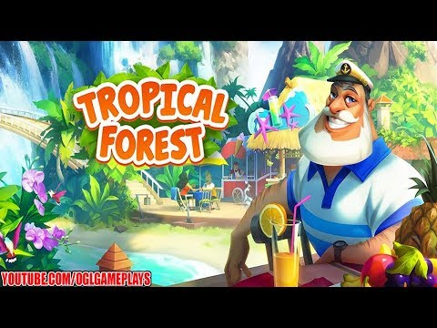 Tropical Forest: Match 3 Story Android iOS Gameplay Part 1 (By Cedar)