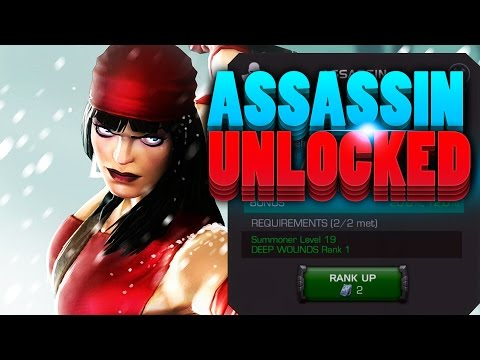 Marvel: Contest of Champions - ASSASSIN UNLOCKED! Mastery Review