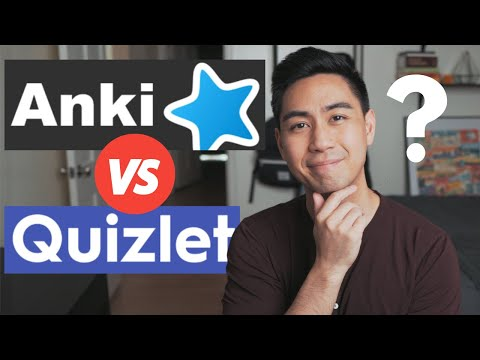 ANKI VS QUIZLET 2020 (or is there something better...)