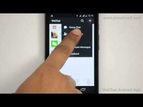 WeChat Android App - How To Add A Contatct To WeChat