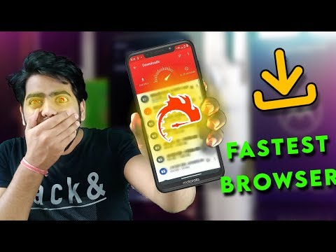 DOWNLOAD NEVER FAILS ON THIS BROWSER   FASTEST BROWSER APP FOR ANDROID IN 2020 😱😍