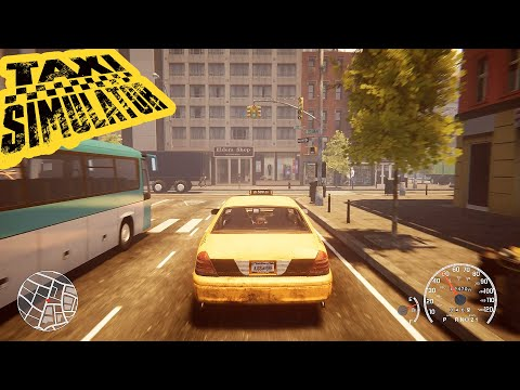 Taxi Simulator 2021 lets you kidnap people and deliver babies ? Gameplay & Features