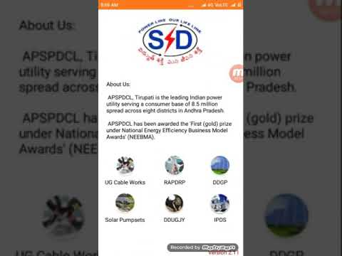 How pay APSPDCL power bill using Android app