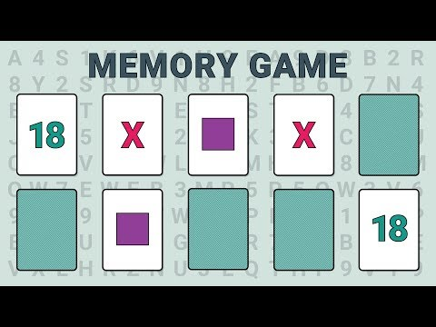 video review of Memory Game (Concentration)