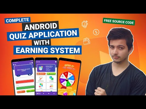 Complete Android Quiz Game with Earning System in Hindi/Urdu