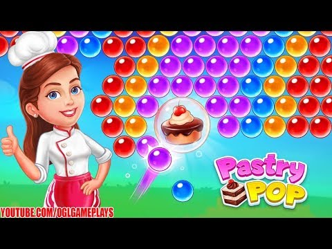 Pastry Pop Blast - Bubble Shooter Android iOS Gameplay (By RV AppStudios)