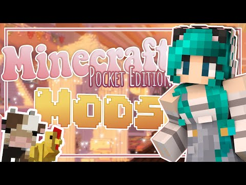 HOW TO INSTALL MINECRAFT POCKET EDITION MODS / ADDONS   Furnicraft Decoration Tutorial