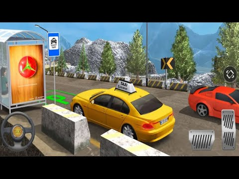 Modern Taxi Drive Parking 3D Game: Taxi Games 2020 -  Android Gameplay